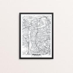 Plakat: By, Prague (Prag)