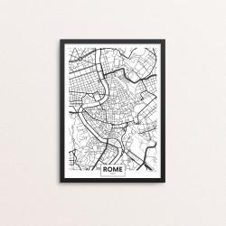 Plakat: By, Rome (Rom)