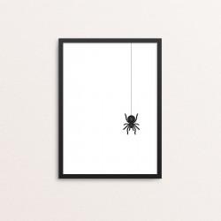 Plakat: 'Edderkop'