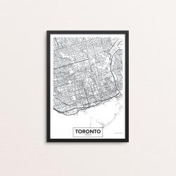 Plakat: By, Toronto
