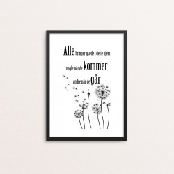 Plakat: 'Alle bringer glæde...