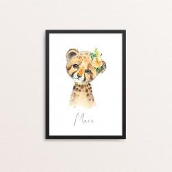 Plakat: Afrikas dyr,...