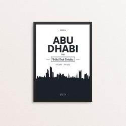 Plakat: Skyline, Abu Dhabi