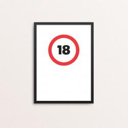 Plakat: '18'