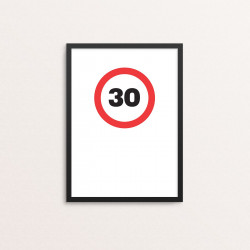 Plakat: '30'