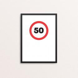 Plakat: '50'