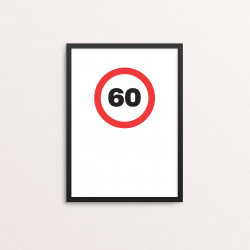 Plakat: '60'