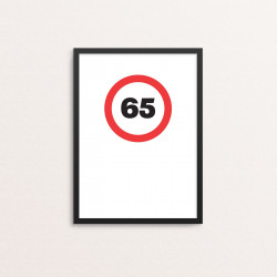 Plakat: '65'