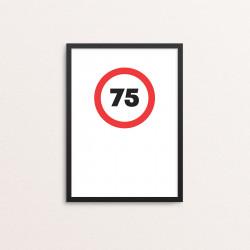 Plakat: '75'