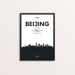 Plakat: Skyline, Beijing