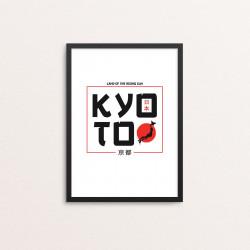 Plakat: 'KYOTO', Land Of...