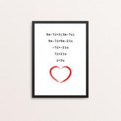 Plakat: 'iloveu'