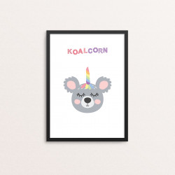 Plakat: 'KOALCORN'