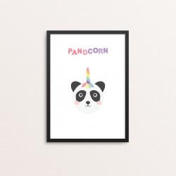 Plakat: 'PANDCORN'