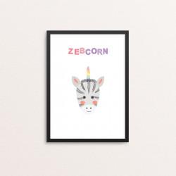 Plakat: 'ZEBCORN'