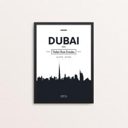 Plakat: Skyline, Dubai