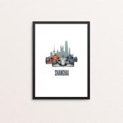 Plakat: Race Cars, 'SHANGHAI'