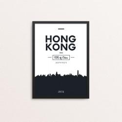 Plakat: Skyline, Hong Kong