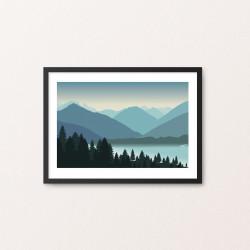 Plakat: Landscape I