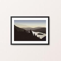Plakat: Landscape VII