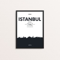 Plakat: Skyline, Istanbul