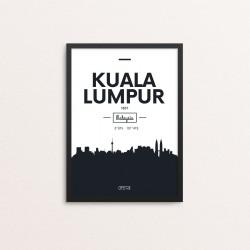 Plakat: Skyline, Kuala Lumpur