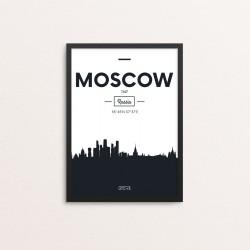 Plakat: Skyline, Moscow...