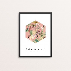 Plakat: 'Make a Wish'