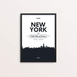 Plakat: Skyline, New York