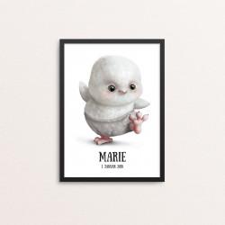 Plakat: Baby ugle,...