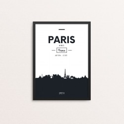 Plakat: Skyline, Paris