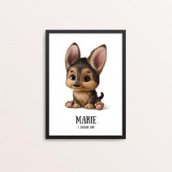 Plakat: Baby hund,...
