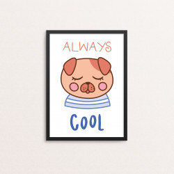 Plakat: 'ALWAYS COOL', Kawaii