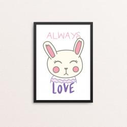 Plakat: 'ALWAYS LOVE', Kawaii