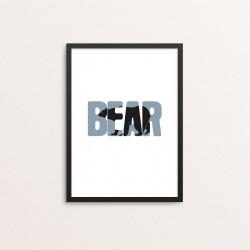 Plakat: 'BEAR'