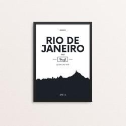Plakat: Skyline, Rio de...