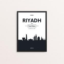 Plakat: Skyline, Riyadh