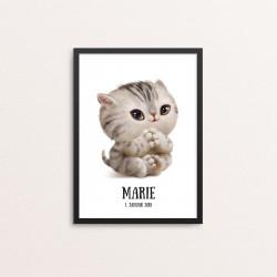 Plakat: Baby kat,...