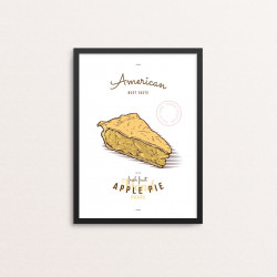 Plakat: 'American Apple Pie'