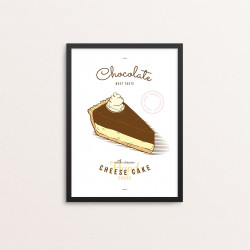 Plakat: 'Chocolate Cheese...