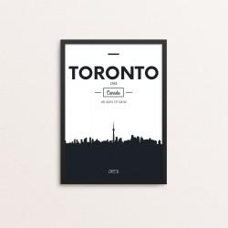 Plakat: Skyline, Toronto