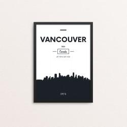 Plakat: Skyline, Vancouver