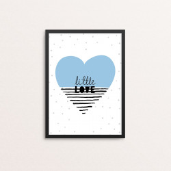 Plakat: 'little love' i...
