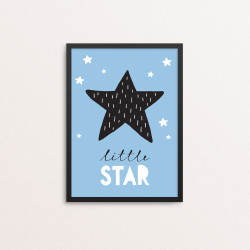Plakat: 'little STAR'...