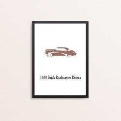Plakat: Biler, '1949 Buick...