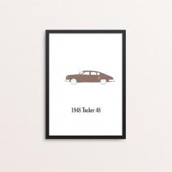 Plakat: Biler, '1948 Tucker...