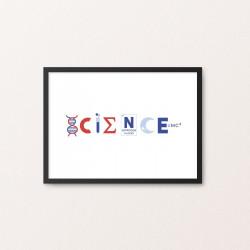 Plakat: 'SCIENCE'