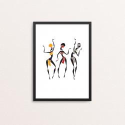 Plakat: African Queens, short
