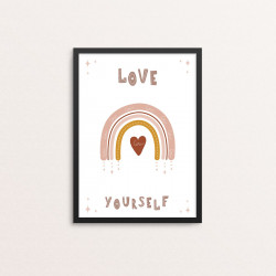 Plakat: 'LOVE YOURSELF',...