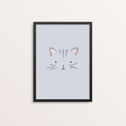 Plakat: Kat i et